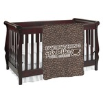 Coffee Addict Baby Blanket (Personalized)