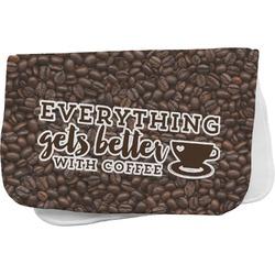 Coffee Addict Burp Cloth (Personalized)