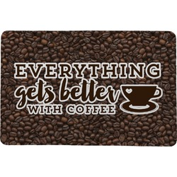 "Coffee Addict Comfort Mat - 24""x36"" (Personalized)"