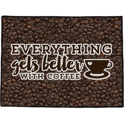 Coffee Addict Door Mat (Personalized)