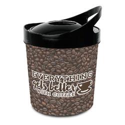 Coffee Addict Plastic Ice Bucket (Personalized)