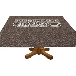 Coffee Addict Tablecloth (Personalized)