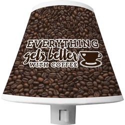 Coffee Addict Shade Night Light (Personalized)
