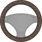 Coffee Addict Steering Wheel Cover (Personalized)