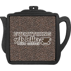 Coffee Addict Teapot Trivet (Personalized)