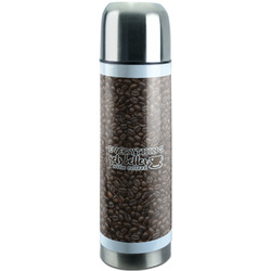 Coffee Addict Stainless Steel Thermos (Personalized)