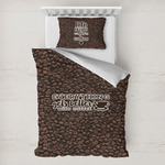 Coffee Addict Toddler Bedding