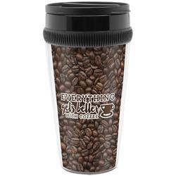 Coffee Addict Travel Mug (Personalized)