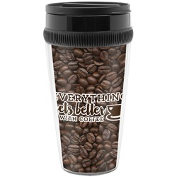 Coffee Addict Travel Mugs (Personalized)