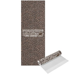 Coffee Addict Yoga Mat - Printed Front (Personalized)