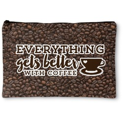 Coffee Addict Zipper Pouch (Personalized)
