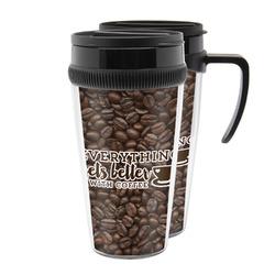 Coffee Addict Acrylic Travel Mugs (Personalized)