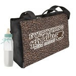 Coffee Addict Diaper Bag (Personalized)