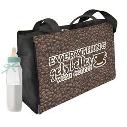 Coffee Addict Diaper Bag (Personalized)