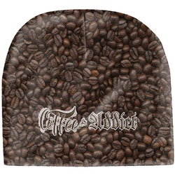 Coffee Addict Baby Hat (Beanie) (Personalized)