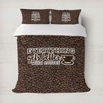 Coffee Addict Duvet Cover