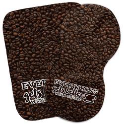 Coffee Addict Burp Cloth