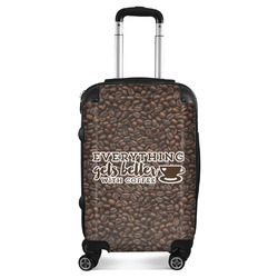Coffee Addict Suitcase (Personalized)