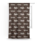 Coffee Addict Curtain (Personalized)