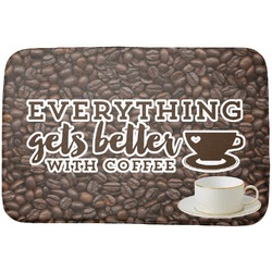 Coffee Addict Dish Drying Mat (Personalized)