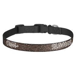Coffee Addict Dog Collar - Multiple Sizes (Personalized)