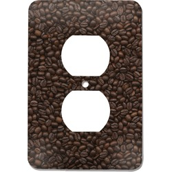 Coffee Addict Electric Outlet Plate (Personalized)