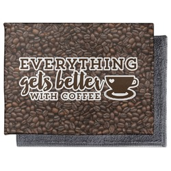 Coffee Addict Microfiber Screen Cleaner (Personalized)