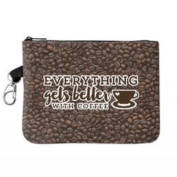 Coffee Addict Golf Accessories Bag (Personalized)