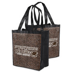 Coffee Addict Grocery Bag (Personalized)