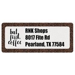 Coffee Addict Return Address Label (Personalized)