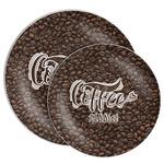 Coffee Addict Melamine Plate (Personalized)