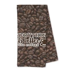 Coffee Addict Microfiber Kitchen Towel