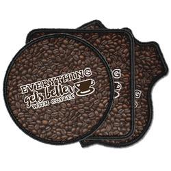 Coffee Addict Iron on Patches