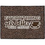 Coffee Addict Door Mat (Personalized)