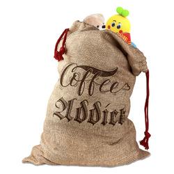 Coffee Addict Santa Sack
