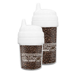 Coffee Addict Sippy Cup (Personalized)