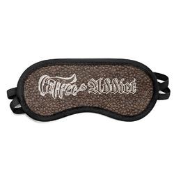 Coffee Addict Sleeping Eye Mask (Personalized)