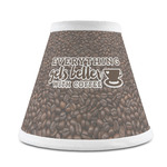 Coffee Addict Chandelier Lamp Shade (Personalized)