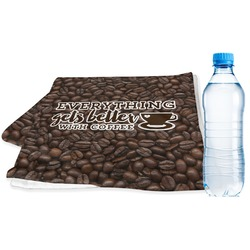 Coffee Addict Sports Towel (Personalized)