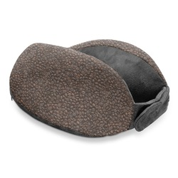 Coffee Addict Travel Neck Pillow (Personalized)