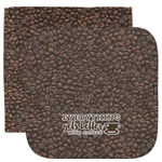Coffee Addict Facecloth / Wash Cloth (Personalized)
