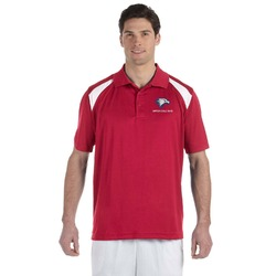 DHS Band - Red Men's Red Polo (Personalized)