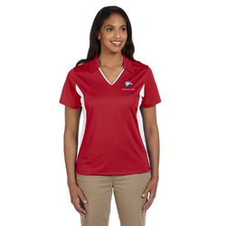 DHS Band - Red Women's Red Polo (Personalized)