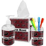 Pearland Oilers Bathroom Accessories Set (Personalized)