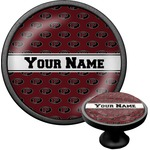 Pearland Oilers Cabinet Knob (Black) (Personalized)