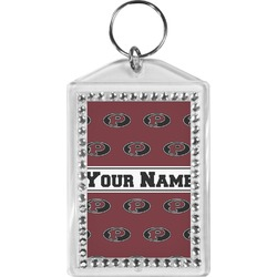 Pearland Oilers Bling Keychain (Personalized)