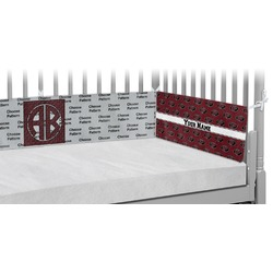 Pearland Oilers Crib Bumper Pads (Personalized)