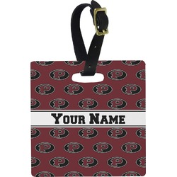 Pearland Oilers Square Luggage Tag (Personalized)