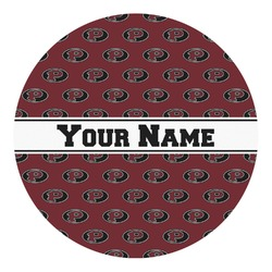Pearland Oilers Round Decal - Custom Size (Personalized)