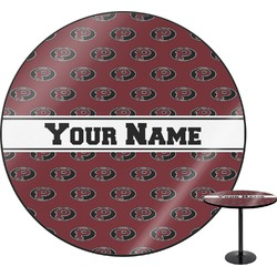 Pearland Oilers Round Table (Personalized)
